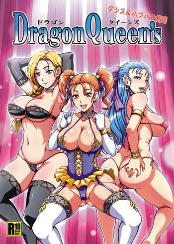 Stockings Dragon Queen's- Dragon quest hentai Female College Student