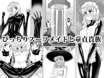 Uncensored Picchiri Suit Maid to Doutei Kizoku Shaved