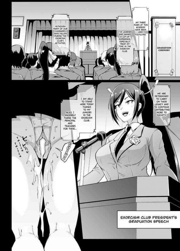 Uncensored Full Color Ponytail JK Taimabu Rakugaki Part 12 Pranks