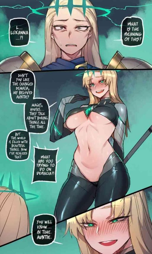 HD Runation part 2 by Mr. skull- League of legends hentai Shame